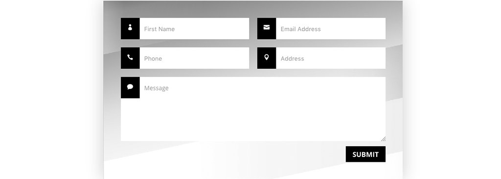 How to add Divi Icons to Contact Form Fields