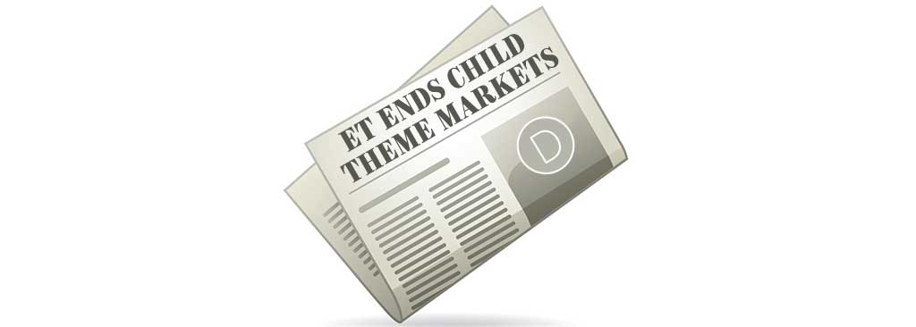 Elegant Themes Ends Child Theme Markets